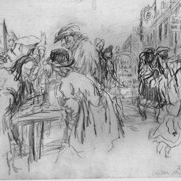 Teachers & Influencers in Drawing #2: Felix Topolski